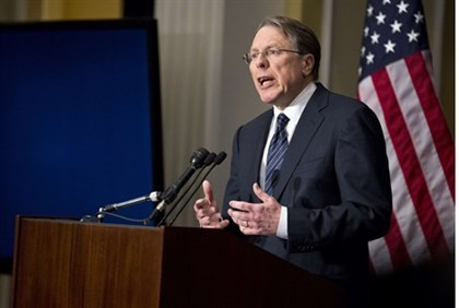 Wayne LaPierre, executive vice president of the National Rifle Association