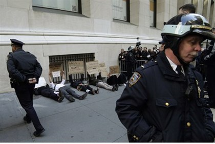 Occupy Wall Street activists