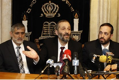 Deri, Yishai and Atias of Shas