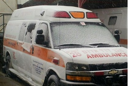 MDA paramedics delivered a baby during the storm