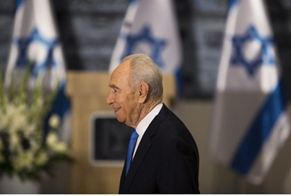 Peres will award Obama with the President's Medal of Honor