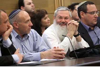 New Jewish Home MKs Rabbi Eli Ben Dahan and Motti Yogev