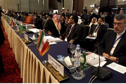 Delegates from Iran attend conference in Cairo