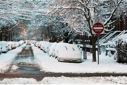 The Northeast U.S. woke up Saturday to snow-blanketed streets