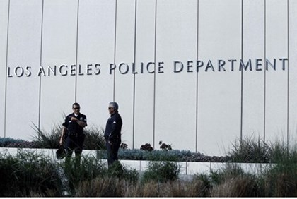 The LAPD are searching for an ex-cop accused of killing three people