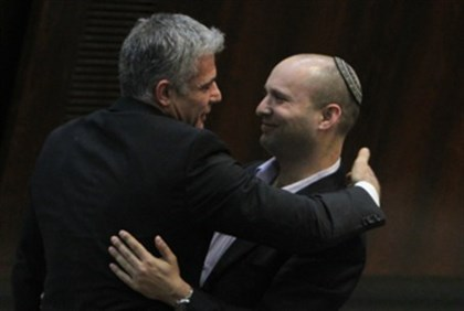 Lapid and Bennett