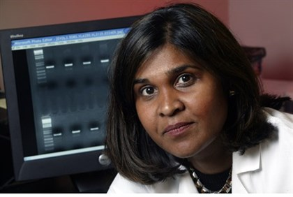 Dr. Deborah Persaud, of Johns Hopkins Children's Center in Baltimore, Maryland.