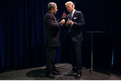 Barak and Biden meet in Washington