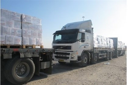 Transfer of goods to Gaza