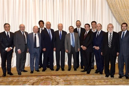 Peres meets with Jewish leaders from Paris and Toulouse