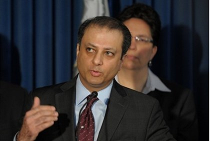 Preet Bharara, United States Attorney for the Southern District of New York