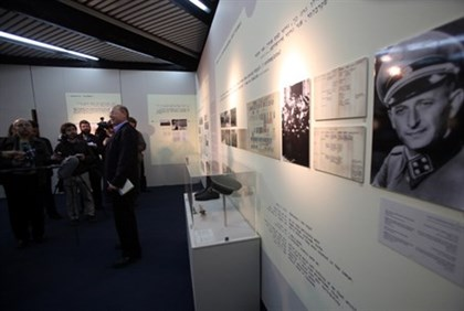 An exhibition in Yad Vashem