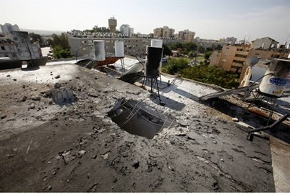 Rocket attack on Ashkelon (archive)