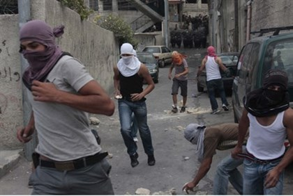 Arab mob attack in Jerusalem (file)