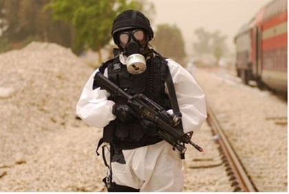 Chemical warfare (illustrative)