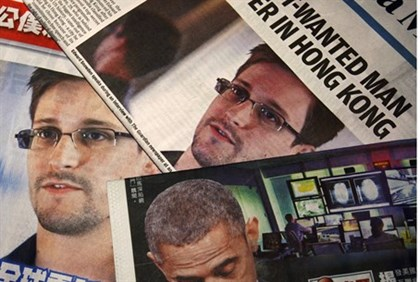 Edward Snowden newspaper articles