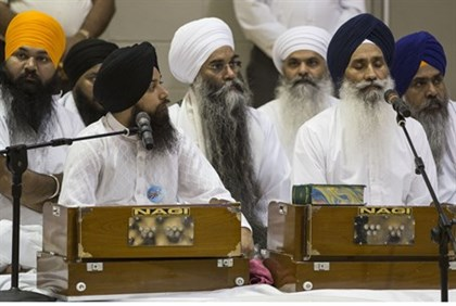 US Sikhs mourn after Wisconsin attack, 2012