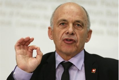 Swiss President and Defence Minister Ueli Maurer