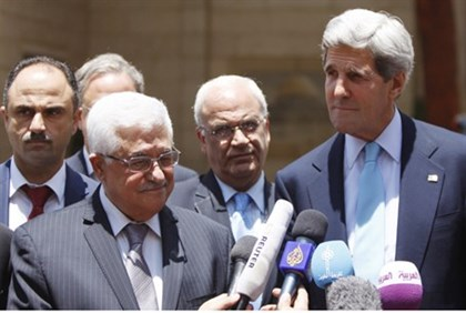 Abbas and Kerry (archive)
