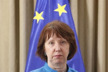 EU foreign policy chief Catherin Ashton