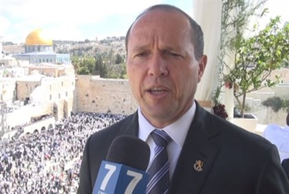 Jerusalem Mayor Nir Barkat