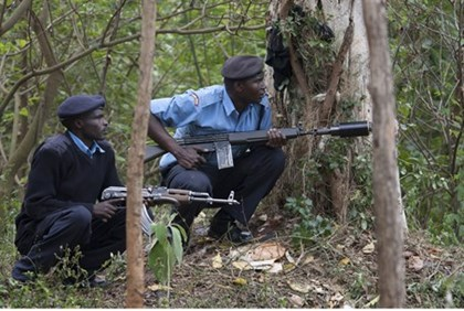 Kenyan security forces (file)