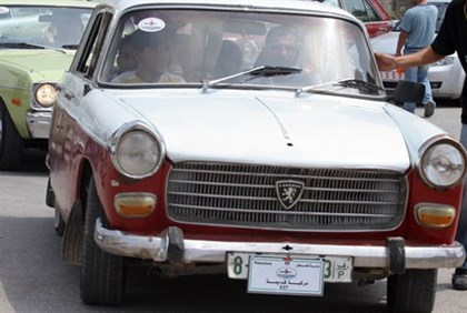 Palestinian Authority car
