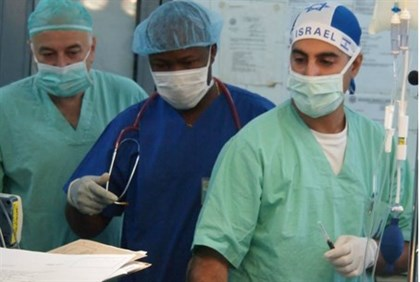 Joint team performs surgery in Tanzania