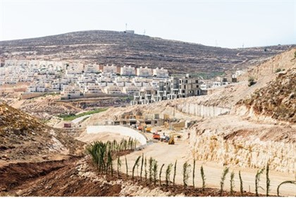 Illustration: Construction at Ramat Givat Zeev