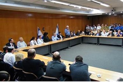 Knesset honors injured soldiers