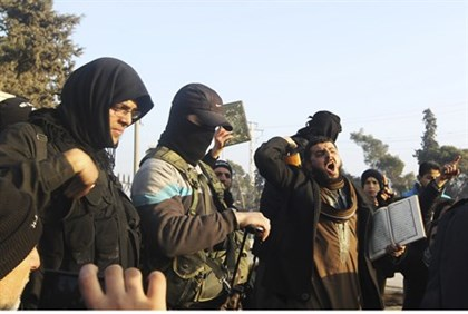 Fighters from the Islamic State in Iraq and the Levant