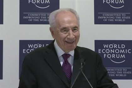 President Shimon Peres, World Economic Forum 2014