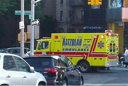 Hatzolah volunteers