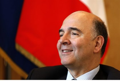 France's Finance Minister Pierre Moscovici