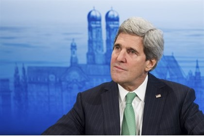 John Kerry speaks at the annual Munich Security Conference