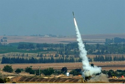 Israel's Iron Dome in action