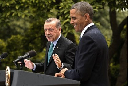 Obama and Erdogan (archive)