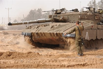IDF tanks (illustrative)