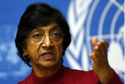 UN Human Rights chief Navi Pillay