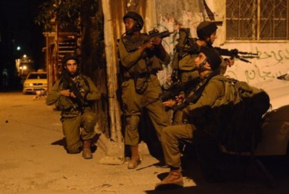 IDF soldiers in Shechem