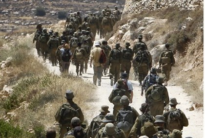 IDF forces in Operation Brother's Keeper
