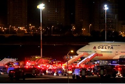 Delta Airlines flight 469 makes emergency landing at Ben Gurion airport