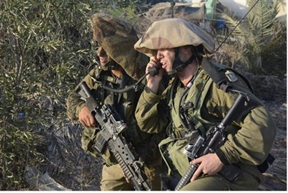 IDF Paratroopers in Gaza