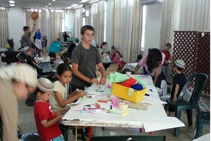 Reaching out to Gush Etzion families