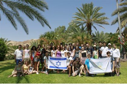 Ukrainian Jewish teens cool off in Israeli summer camp