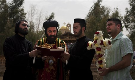 Syrian Orthodox Christian priests (illustration)