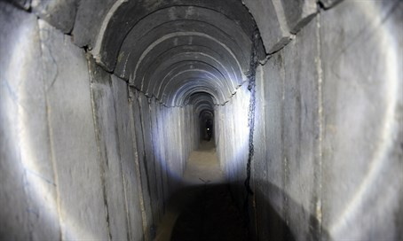 Hamas terror tunnel (file)