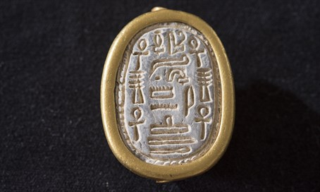 The ancient scarab seal