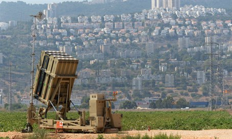 Iron Dome missile defense
