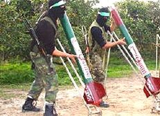 Hamas rocket launchers